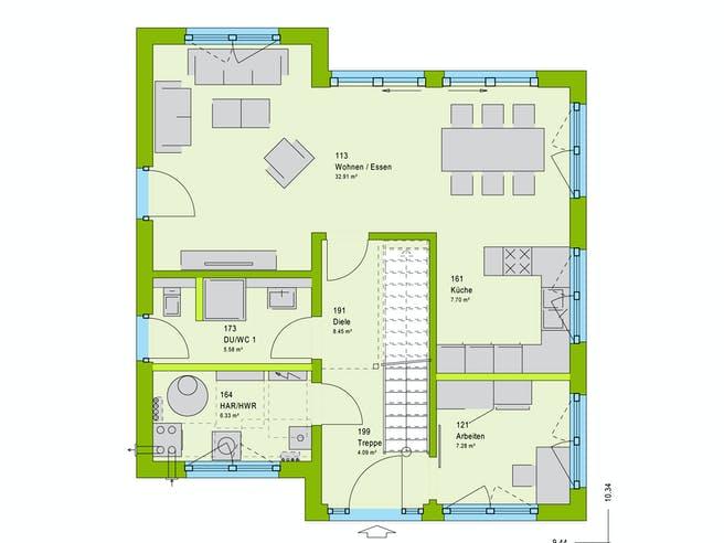 Massa LifeStyle 13.11 P Floorplan 1