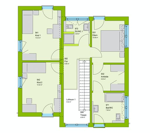 Massa LifeStyle 13.11 P Floorplan 2
