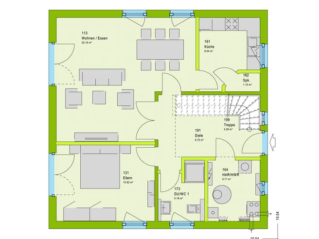 Massa LifeStyle 14.01 S Floorplan 1
