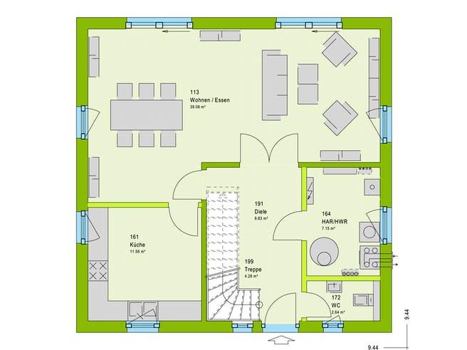Massa LifeStyle 14.02 S Floorplan 1