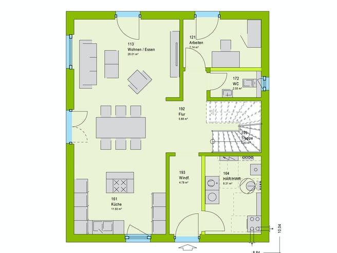 Massa LifeStyle 14.04 S Floorplan 1