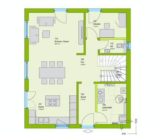 Massa LifeStyle 14.04 W Floorplan 1