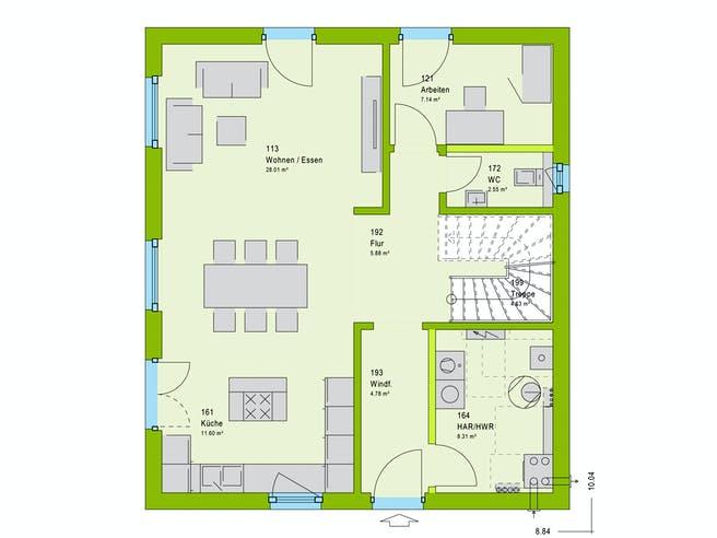 Massa LifeStyle 14.04 W Floorplan 1