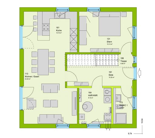 Massa LifeStyle 15.01 S Floorplan 1