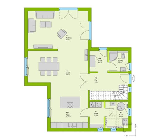 Massa LifeStyle 15.02 W Floorplan 1