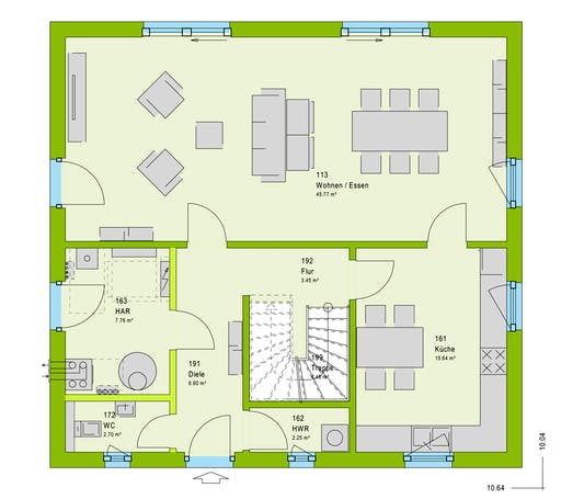Massa LifeStyle 16.02 S Floorplan 1