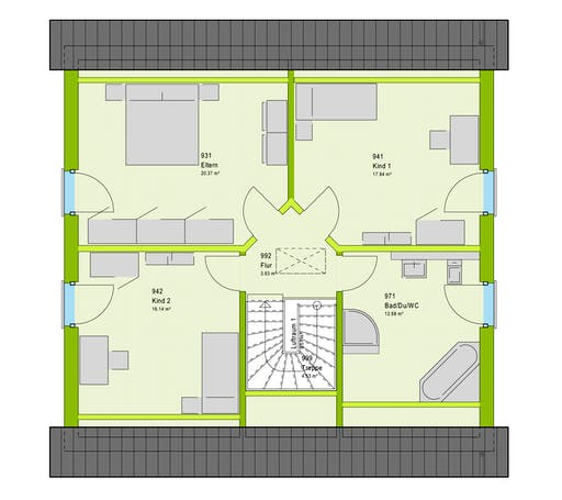 Massa LifeStyle 16.02 S Floorplan 2