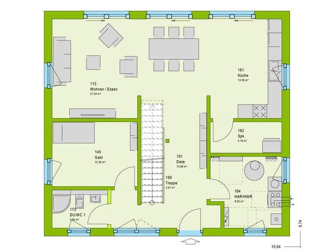 Massa LifeStyle 16.03 S Floorplan 1