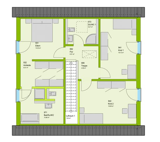 Massa LifeStyle 16.03 S Floorplan 2