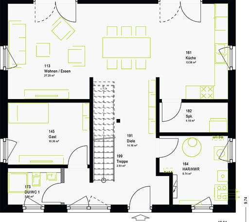 Massa - LifeStyle 16.03 S Floorplan 7