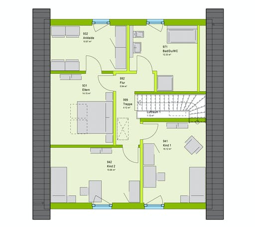 Massa LifeStyle 16.04 S Floorplan 2