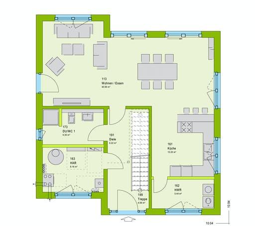 Massa LifeStyle 16.05 P Floorplan 1