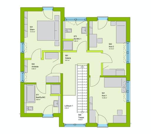 Massa LifeStyle 16.05 P Floorplan 2