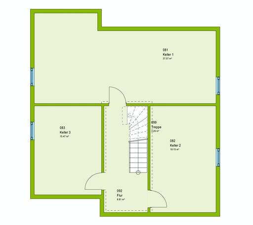 Massa LifeStyle 16.05 P Floorplan 3