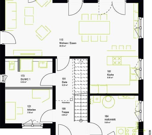 Massa - LifeStyle 16.05 P Floorplan 7