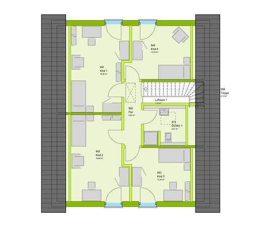 Massa LifeStyle 17.01 S Floorplan 2
