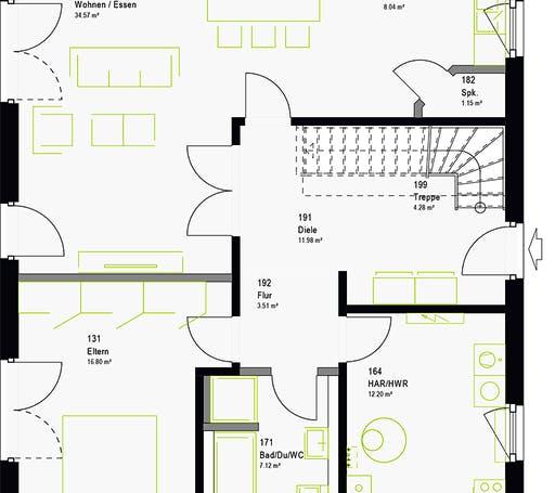 Massa - LifeStyle 17.01 S Floorplan 7