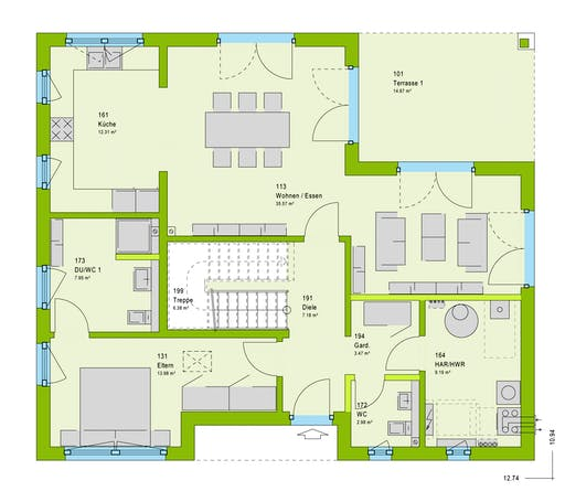 Massa LifeStyle 17.02 W Floorplan 1