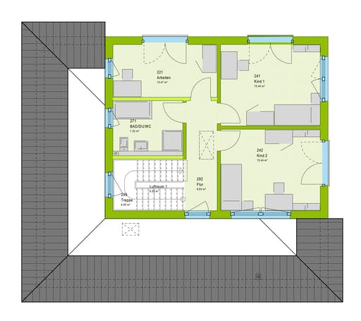 Massa LifeStyle 17.02 W Floorplan 2