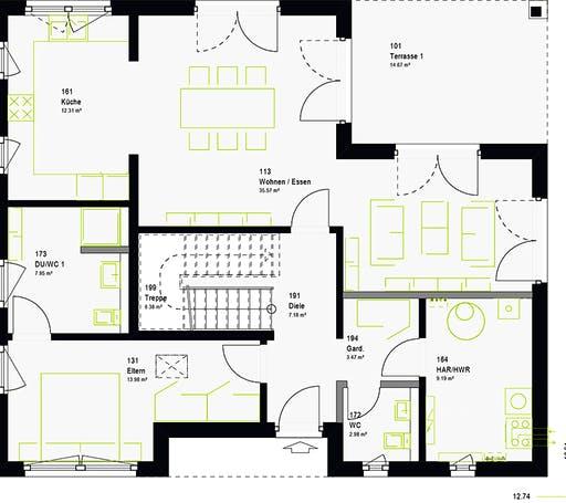 Massa - LifeStyle 17.02 W Floorplan 7