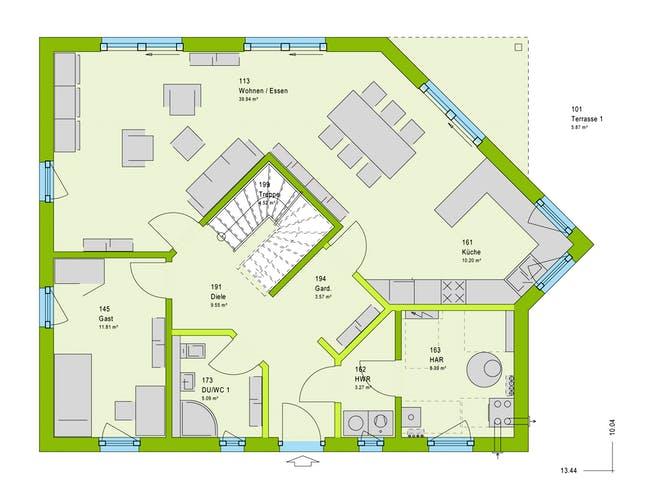 Massa LifeStyle 18.01 S Floorplan 1