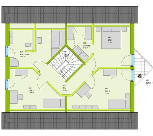 Massa LifeStyle 18.01 S Floorplan 2
