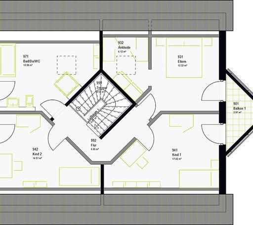 Massa - LifeStyle 18.01 S Floorplan 8