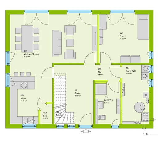 Massa LifeStyle 18.02 S Floorplan 1