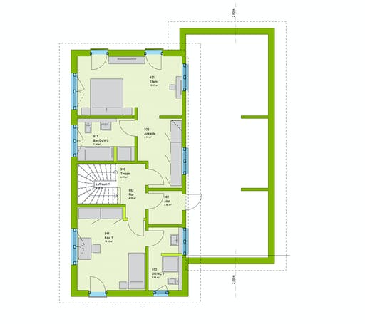 Massa LifeStyle 18.03 P Floorplan 2