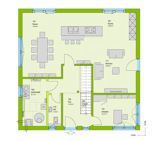 Massa LifeStyle 18.04 W Floorplan 1