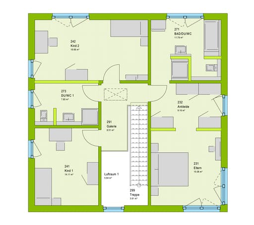 Massa LifeStyle 18.04 W Floorplan 2