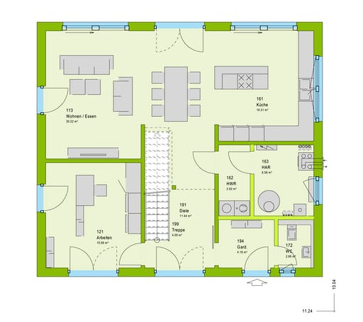 Massa LifeStyle 18.06 S Floorplan 1