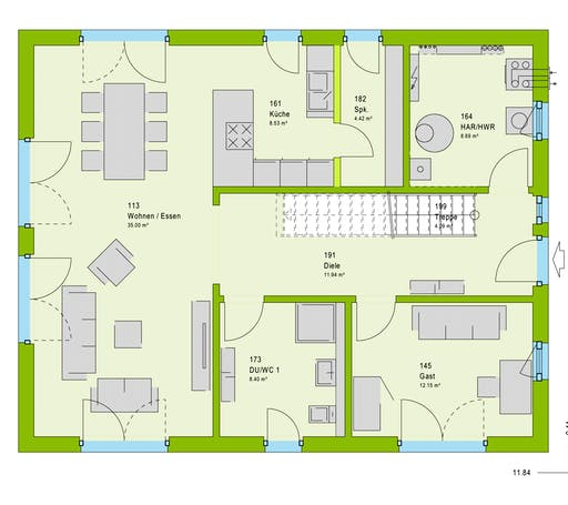 Massa LifeStyle 18.07 S Floorplan 1