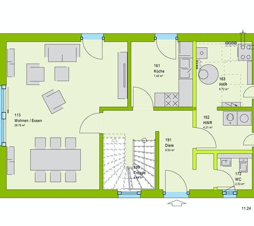Massa LifeStyle 19.01 S Floorplan 1