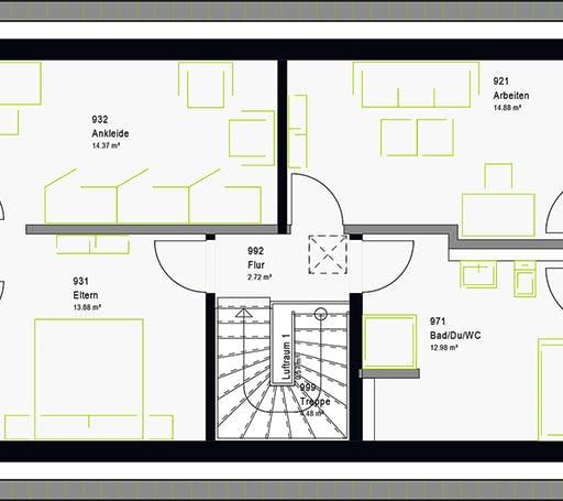 Massa - LifeStyle 19.01 S Floorplan 9