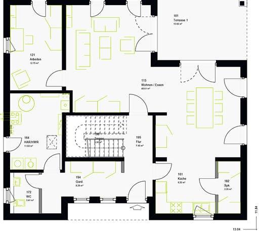 Massa - LifeStyle 19.03 W Floorplan 7