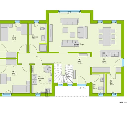 Massa LifeStyle 19.04 F Floorplan 1