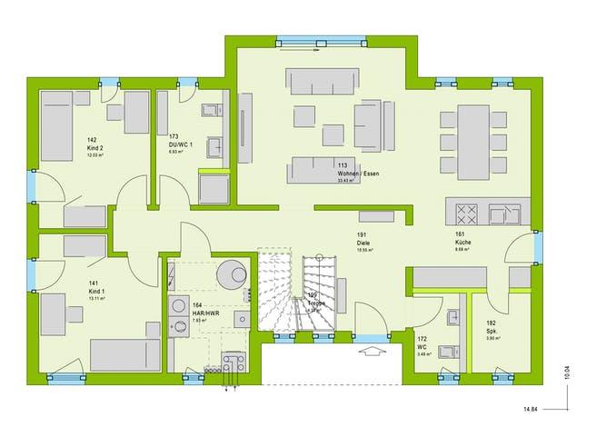 Massa LifeStyle 19.04 F Floorplan 1