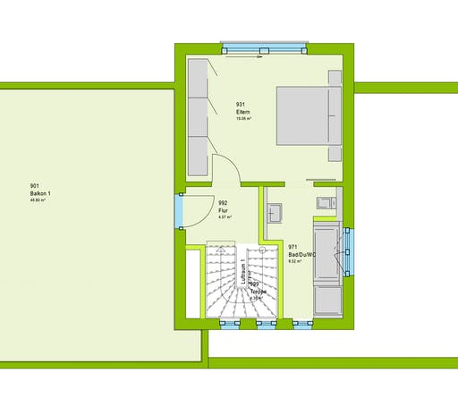 Massa LifeStyle 19.04 F Floorplan 2