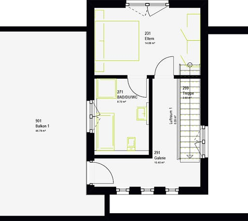 Massa - LifeStyle 19.04 F Floorplan 8