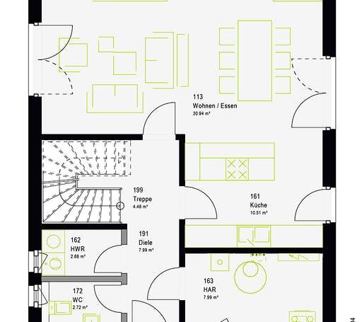 Massa - TwinStyle 13.01 W Floorplan 7