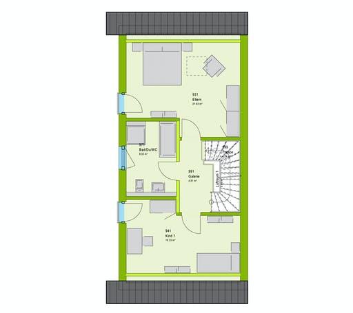 Massa TwinStyle 13.03 S Floorplan 2