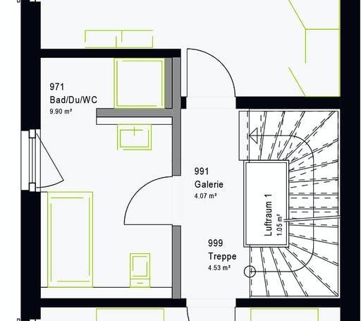 Massa - TwinStyle 13.03 S Floorplan 8