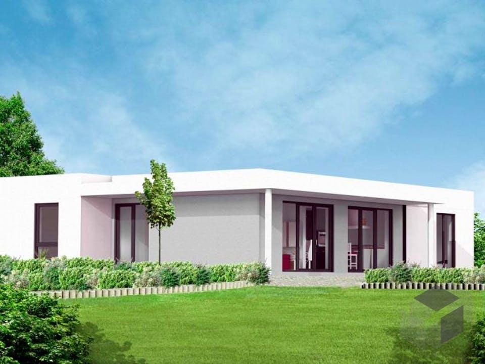 Bungalow 5 von Massive Wohnbau Außenansicht