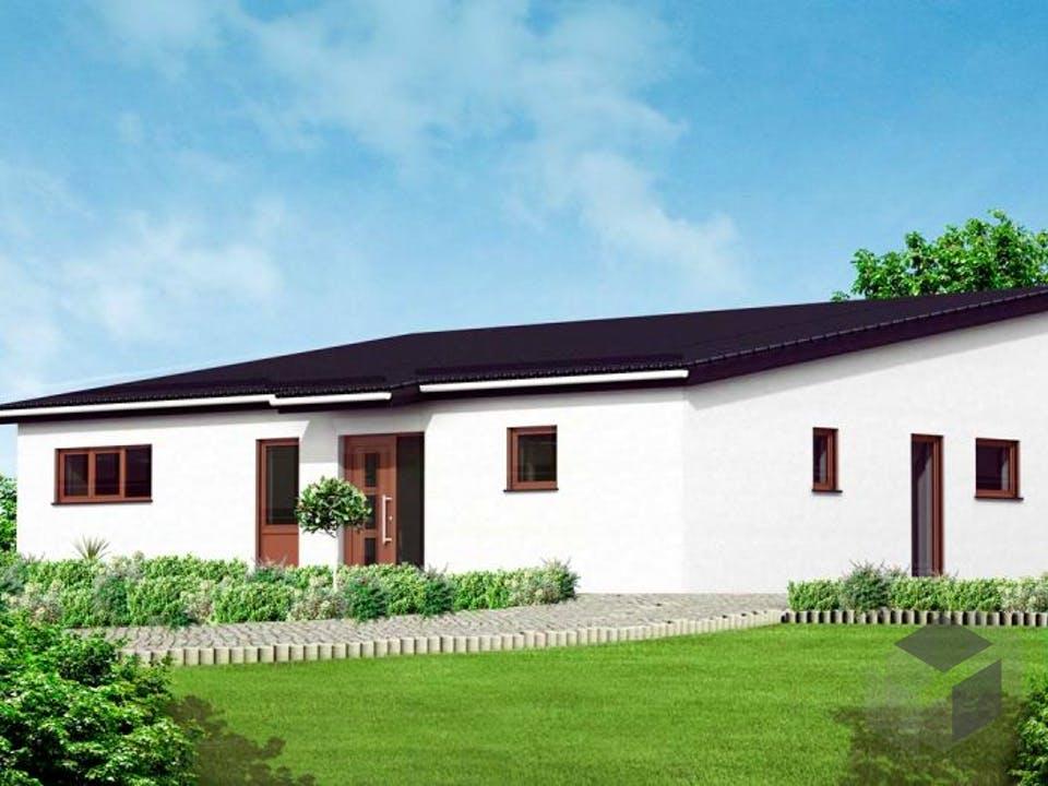 Bungalow 6 von Massive Wohnbau Außenansicht