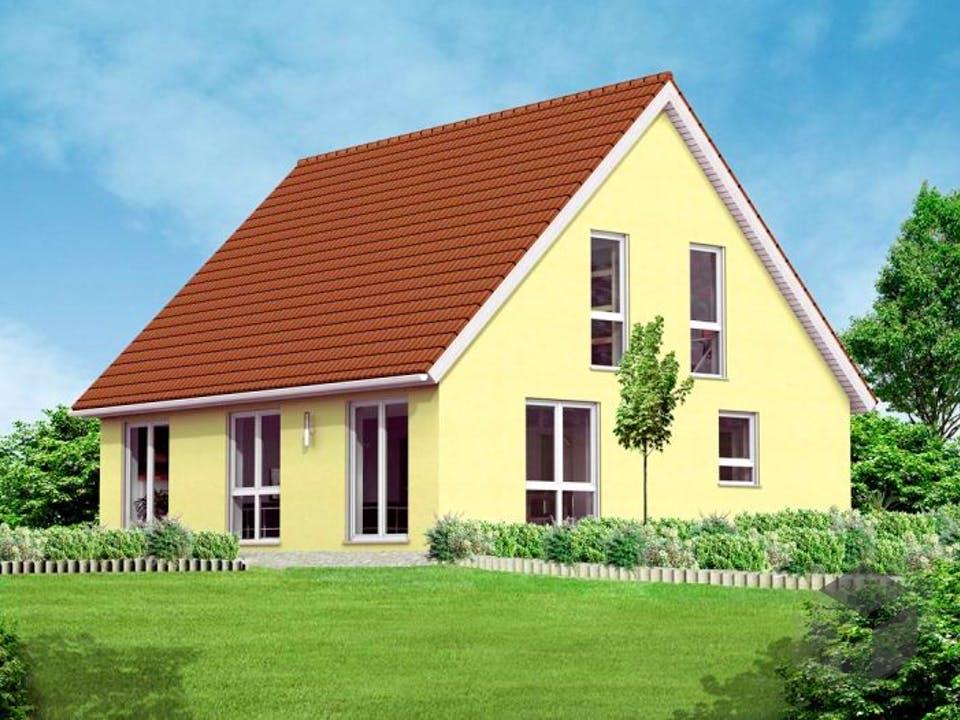 Einfamilienhaus Ben von Massive Wohnbau Außenansicht