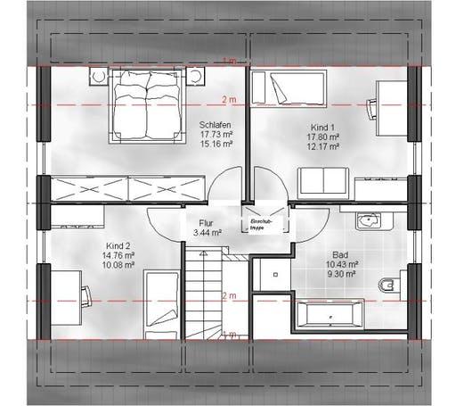 Massive Wohnbau - EFH Ben Floorplan 2