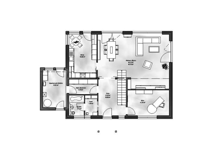 Massive Wohnbau - EFH Emilia Floorplan 1