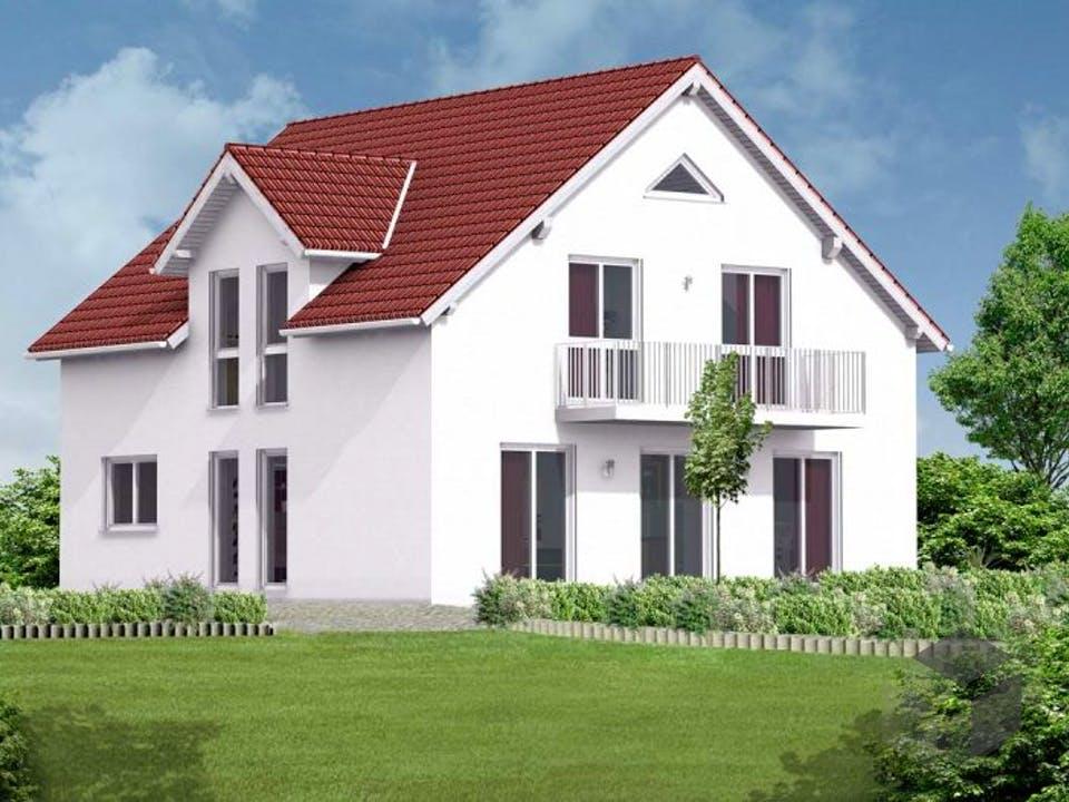 Einfamilienhaus Emma von Massive Wohnbau Außenansicht