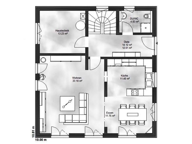 Einfamilienhaus Emma von Massive Wohnbau Grundriss 1
